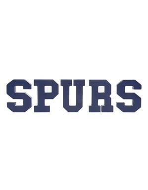 Spurs Wooden Decorative Letters
