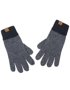 Spurs Adult Navy Mixed Marl Gloves