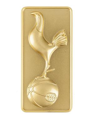 Spurs Gold Crest Metal Magnet