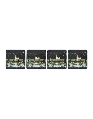 Spurs 4 Pack Cork Back Coasters