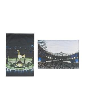 Spurs 2 Pack Stadium Tea Towels