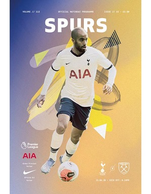 Spurs Vs West Ham United Programme