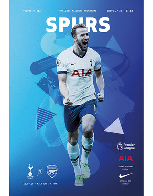 Spurs Vs Arsenal Programme
