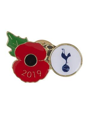Spurs 2019 Poppy Pin Badge