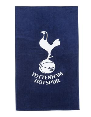 Spurs Navy And White Crest Towel