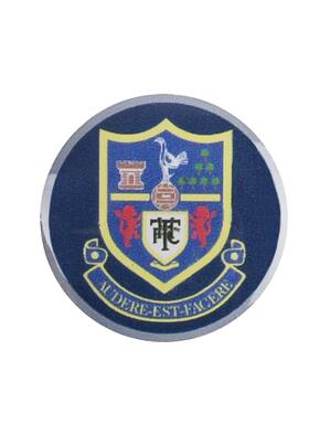 Spurs Shield Lapel Pin Badge
