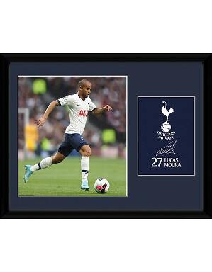 Spurs Lucas Moura 2019/2020 Framed Picture