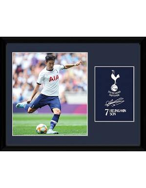 Spurs Heung-Min Son 2019/2020 Framed Picture