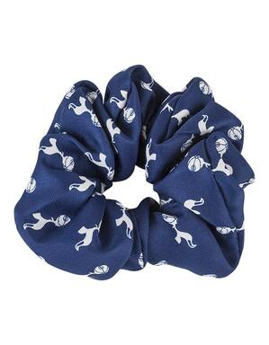 Spurs Crest Scrunchie