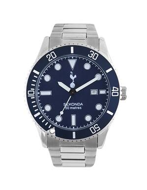 Spurs Mens Blue Bracelet Watch