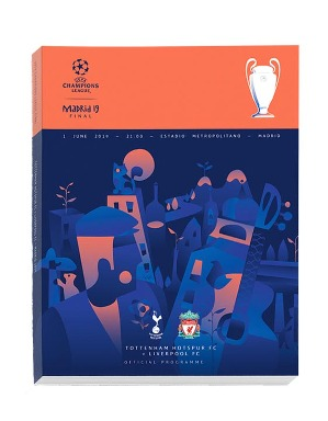 Spurs Vs Liverpool Champions League Final Programme