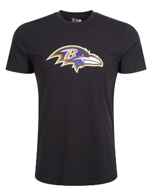 New Era Adult Baltimore Ravens Logo T-Shirt