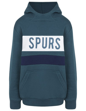 Kids Boys Spurs Colour Block Over Hoodie