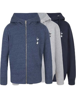 Spurs Kids Boys Essential Full Zip Hoodie
