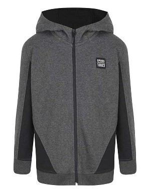 Spurs Boys Colour Block Sides Hoodie