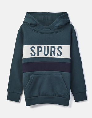 Youth Boys Spurs Colour Block Over Hoodie