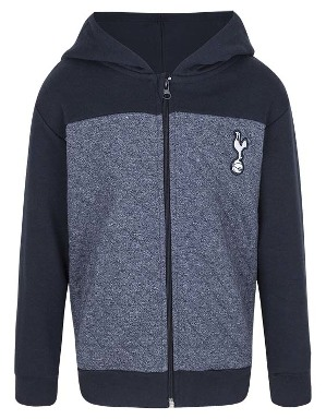 Spurs Boys Colour Block Quilt Hoodie