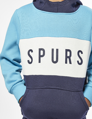 Youth Boys Spurs Colour Block Hoodie