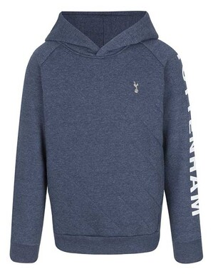 Spurs Kids Quilted Front Hoodie