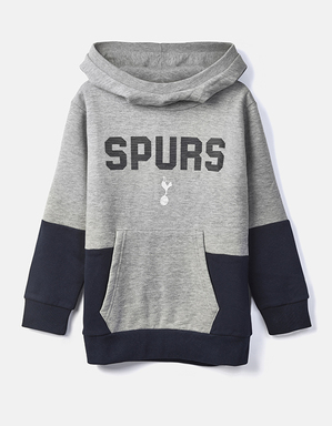 Youth Boys Spurs Colour Block Snood Hoodie