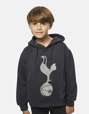 Youth Boys Raised Cockerel Print Hoodie