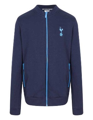 Spurs Boys Contrast Zip Up Jacket