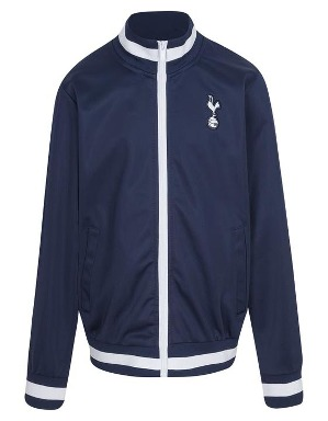 Spurs Kids Stripe Rib Track Jacket