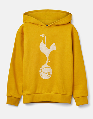 Spurs Youth Boys Raised Rubber Cockerel Overhead Hoodie