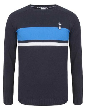 Spurs Boys Colour Block Jumper