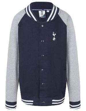 Spurs Kids Boys Baseball Jacket