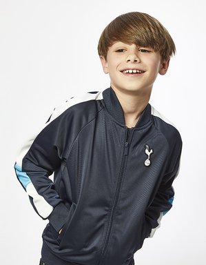 Youth Boys Side Stripe Zip Up Jacket