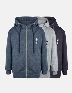 Spurs Kids Full Zip Essential Hoodie