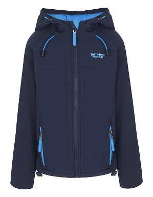 Spurs Boys Navy Soft Shell Jacket