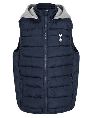 Spurs Boys Hooded Gilet