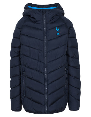 Spurs Boys Chevron Padded Jacket