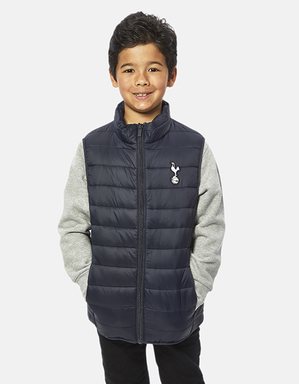 Spurs Boys Padded Gilet
