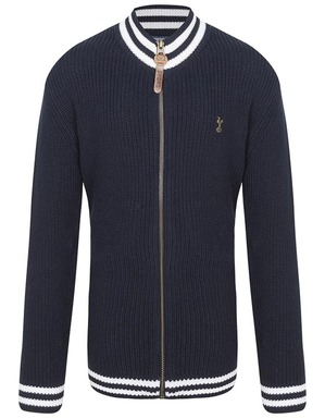 Spurs Kids Boys Navy Cardigan