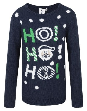 Spurs Kids Ho Ho Ho Christmas Jumper
