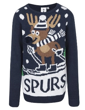 Spurs Kids Rudolph Christmas Jumper