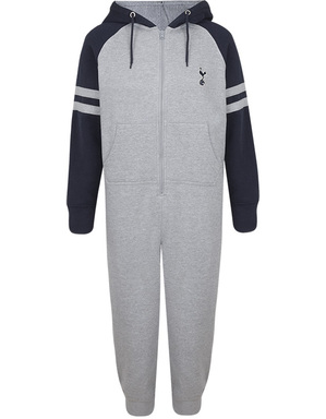 Spurs Kids Grey Colour Block Onesie