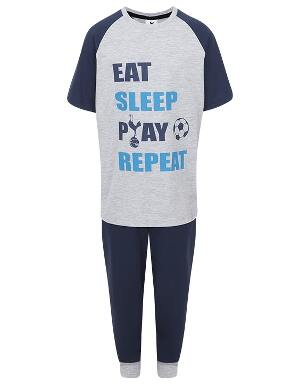 Spurs Youth Boys Eat Sleep Play PJs