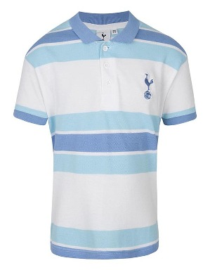 Spurs Kids Block Stripe Polo