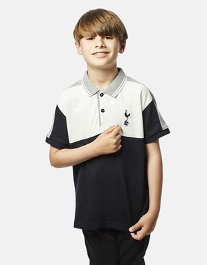 Spurs Kids Colour Block Polo