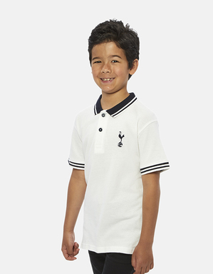 Spurs Kids Tipped Collar Polo