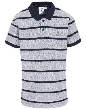 Kids Boys Mixed Stripe Polo