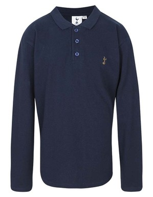 Kids Boys Spurs Long Sleeve Polo