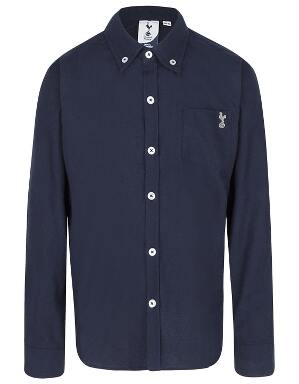 Spurs Kids L/S Navy Shirt