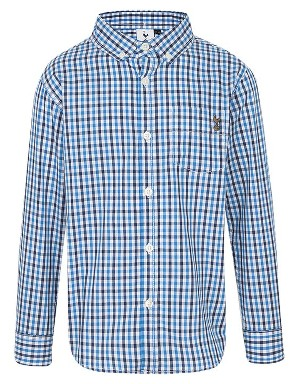 Spurs Boys Multi Check Shirt