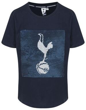 Spurs Kids Boys Changing Sequin Tee