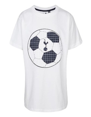 Spurs Kids Football Rubber T-Shirt